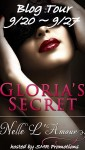 BLOG TOUR, EXCERPT and GIVEAWAY: GLORIA'S SECRET (GLORIA BOOK 1)  by NELLE L'AMOUR