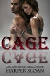 BLOG TOUR, REVIEW and GIVEAWAY: CAGE (CORPS SECURITY #2) by HARPER SLOAN