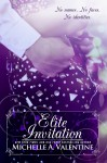 COVER REVEAL: ELITE INVITATION by MICHELLE A. VALENTINE