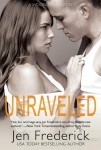 COVER REVEAL and GIVEAWAY: UNRAVELED (WOODLANDS #3) by JEN FREDERICK