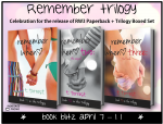 REMEMBER TRILOGY by T. TORREST: EXCERPT and GIVEAWAY