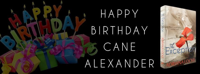Cane's Birthday Banner