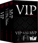 Release Blitz: The VIP Trilogy Bundle by M. Robinson
