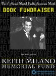 3rd Annual Keith Milano Memorial Book Fundraiser & Giveaway
