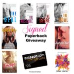 ★ NEW SIGNED GIVEAWAY POSTED ★