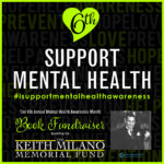 6th Annual Mental Health Awareness Month Book Fundraiser for the Keith Milano Memorial Fund